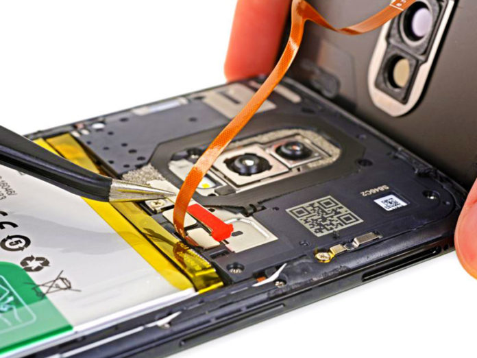 OnePlus 6 iFixit Teardown: Repairability Score is Only 5 out