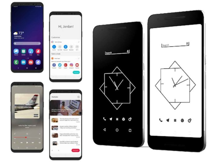 10 Minimal Best KLWP Themes to Try on Your Android Device