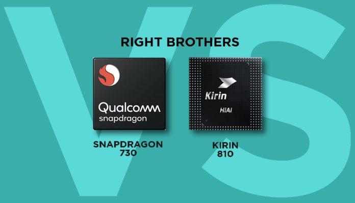 Qualcomm Snapdragon 730 vs HiSilicon Kirin 810: Battle of